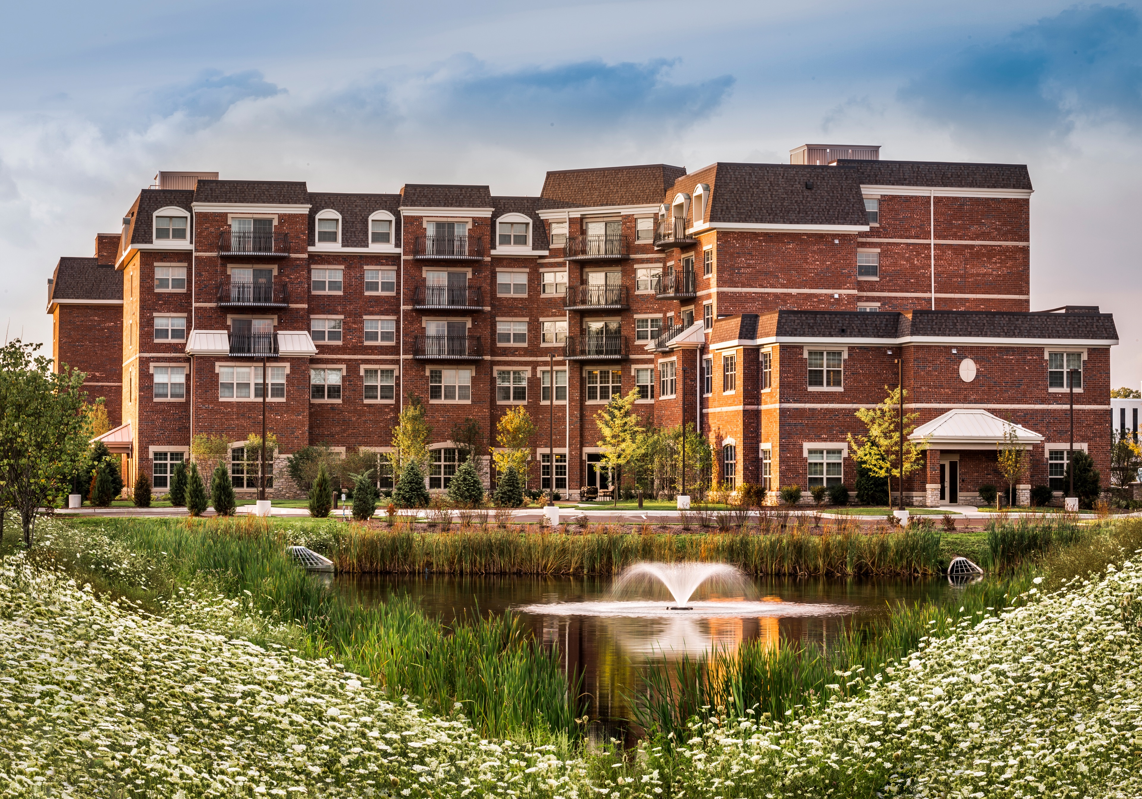 Sunrise senior living lombard il by skender for Lombard place