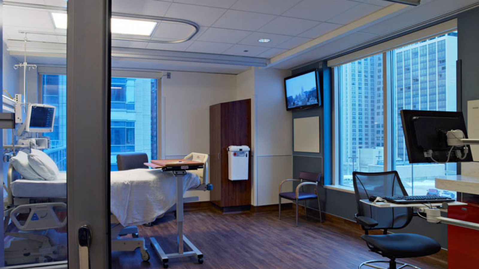 Northwestern Memorial Hospital Intensive Care Units, Chicago