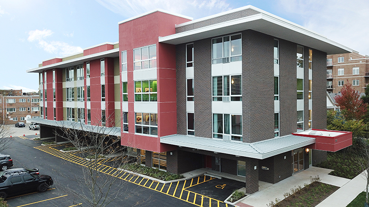 Skender Completes New 45,000-SF Independent Living Facility