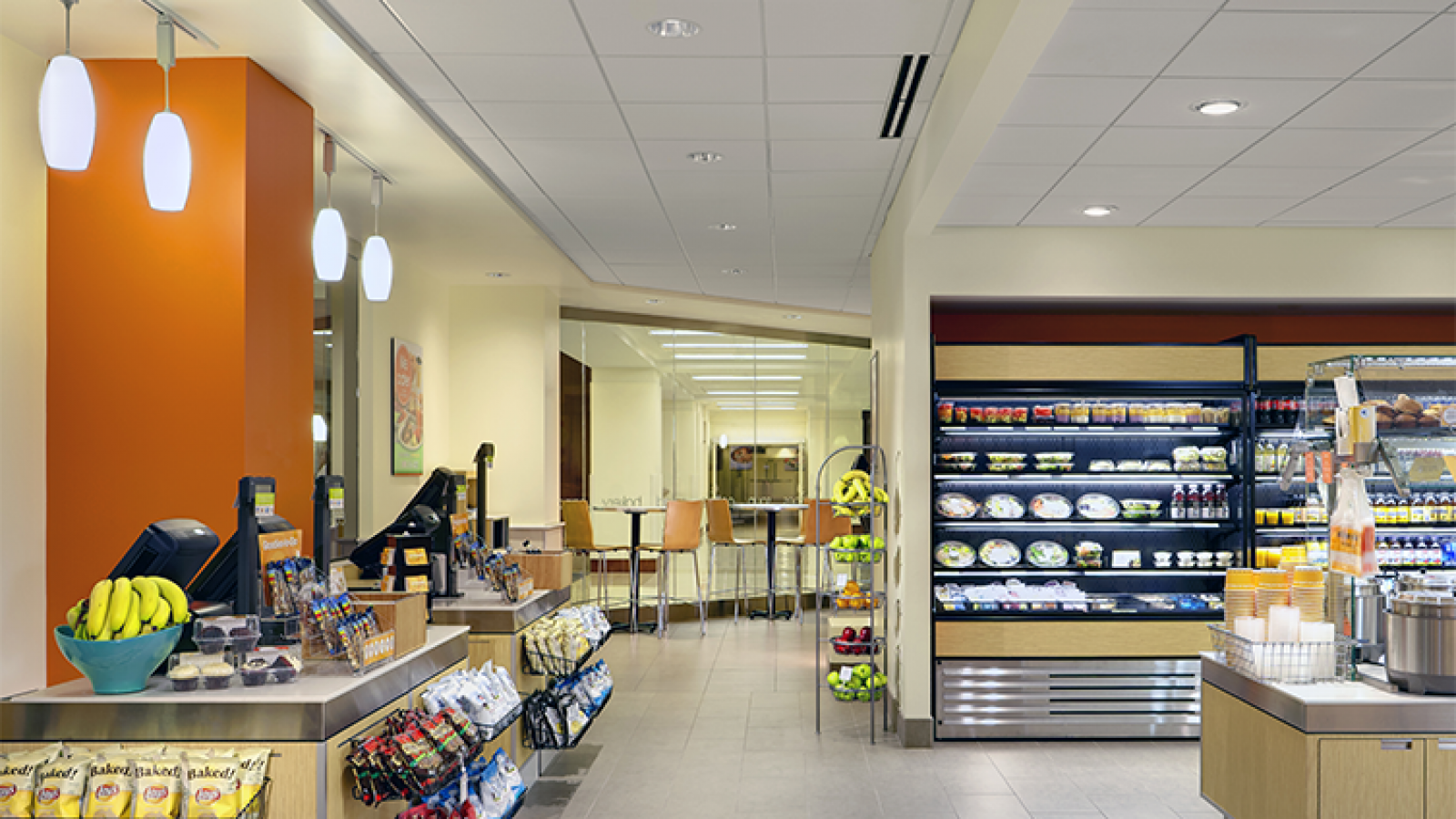 Northwestern Memorial Hospital Retail, Chicago, IL by Skender
