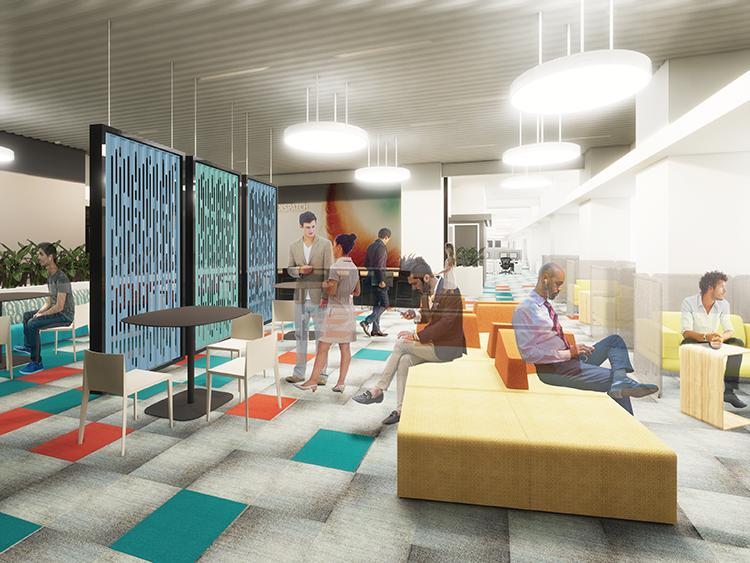 Skender Starts 225,000-SF Restack Project for HERE Technologies