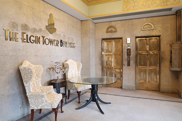 Skender Completes Iconic Elgin Tower Rehabilitation Project