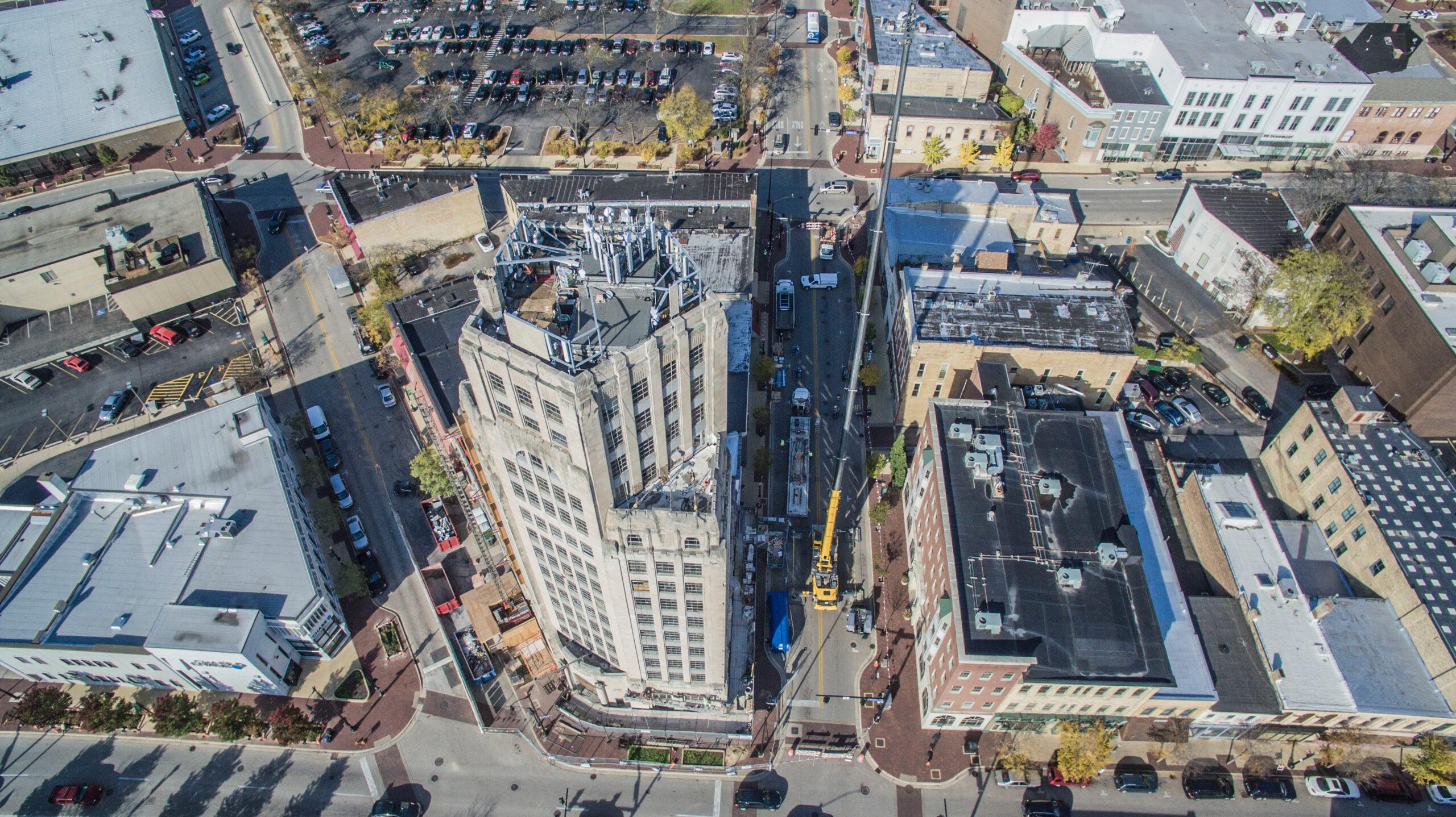 Elgin Tower Building Wins Preservation Award