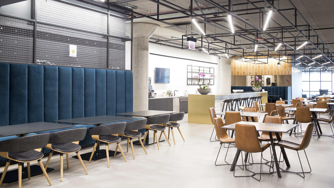 Skender Construction combines raw materials with modern amenities in new Chicago office