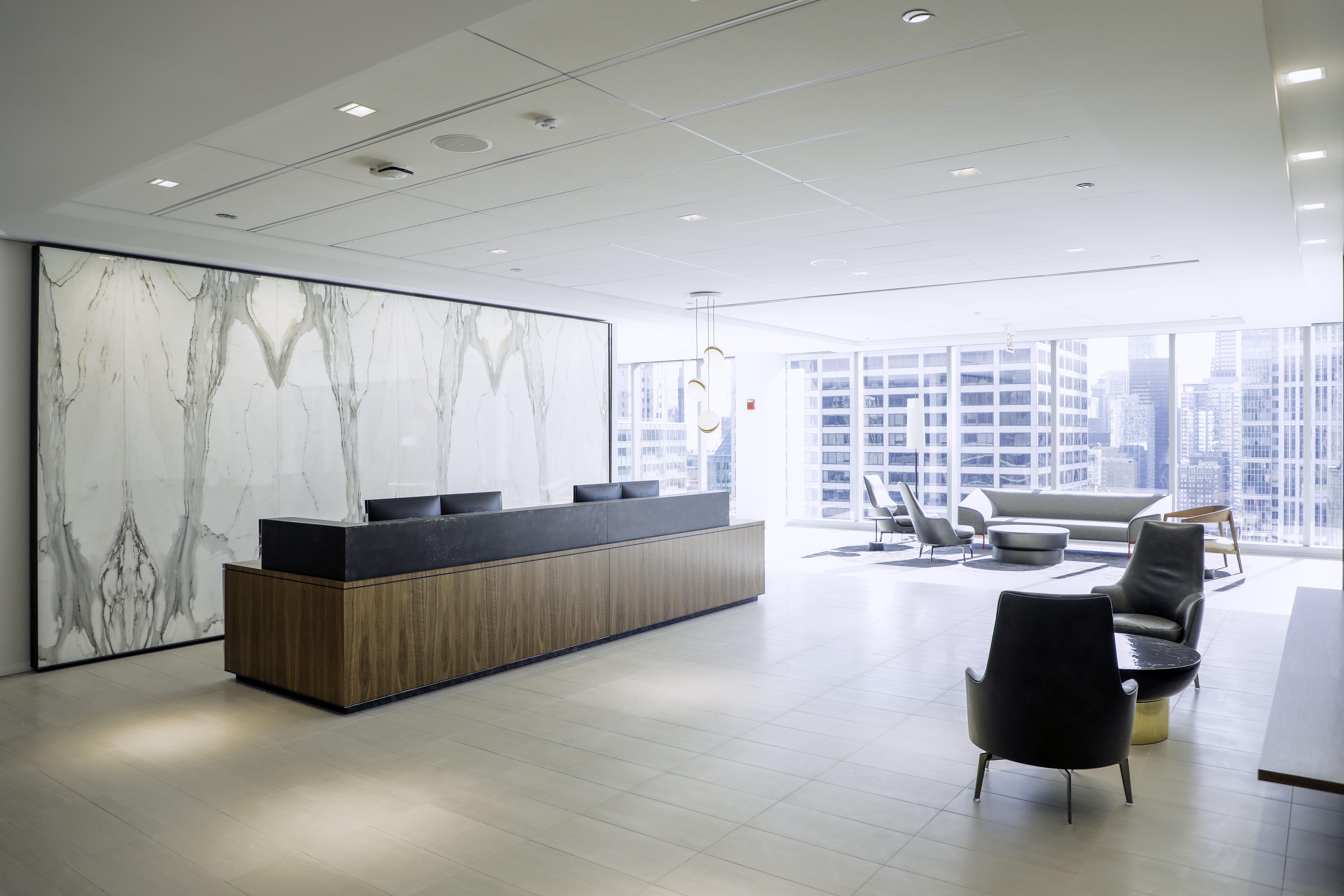 Skender Completes Interior Construction of National Law Firm's 121,000-Square-Foot Headquarters in Chicago