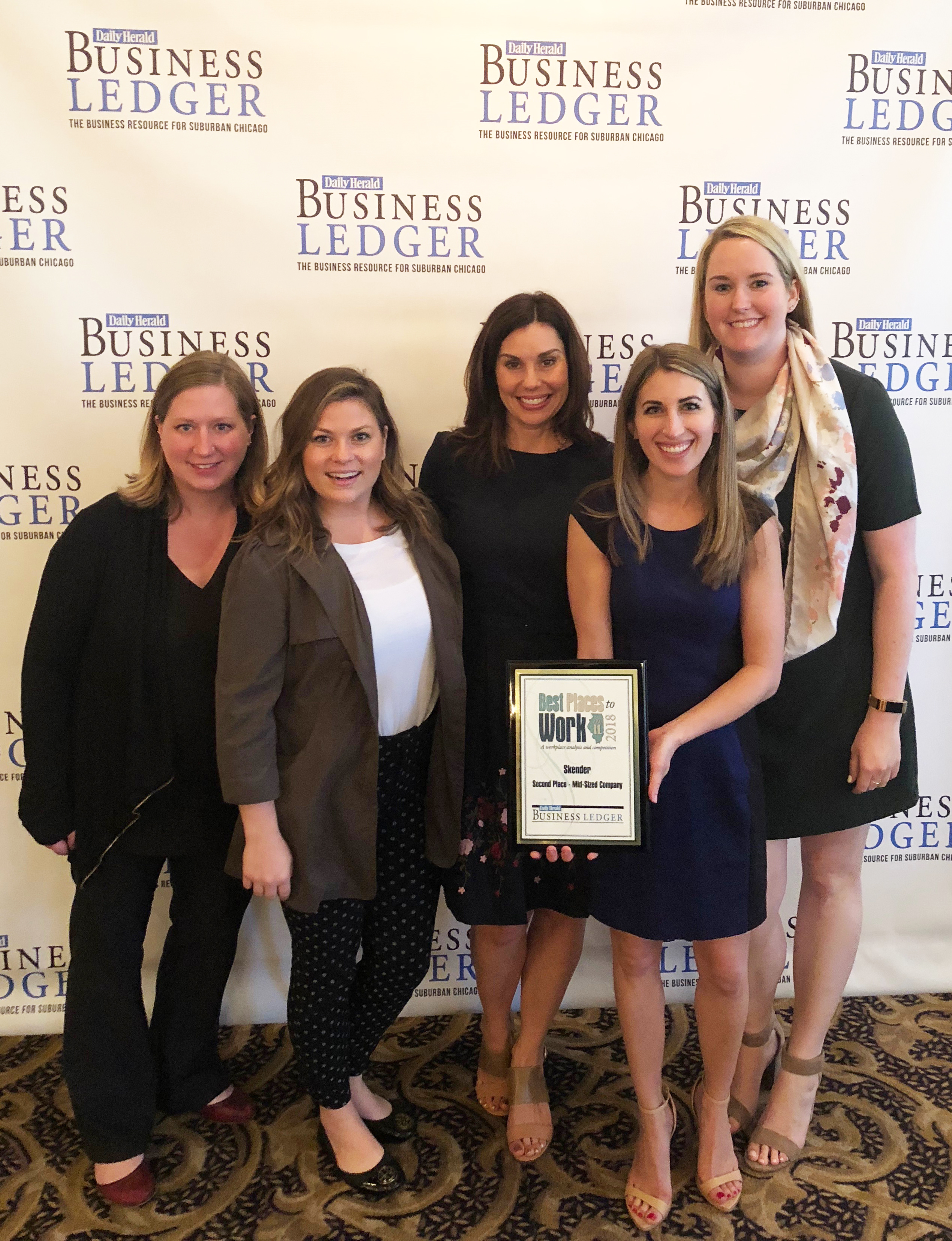 Skender Named as a Best Place to Work in Illinois for Tenth Consecutive Year