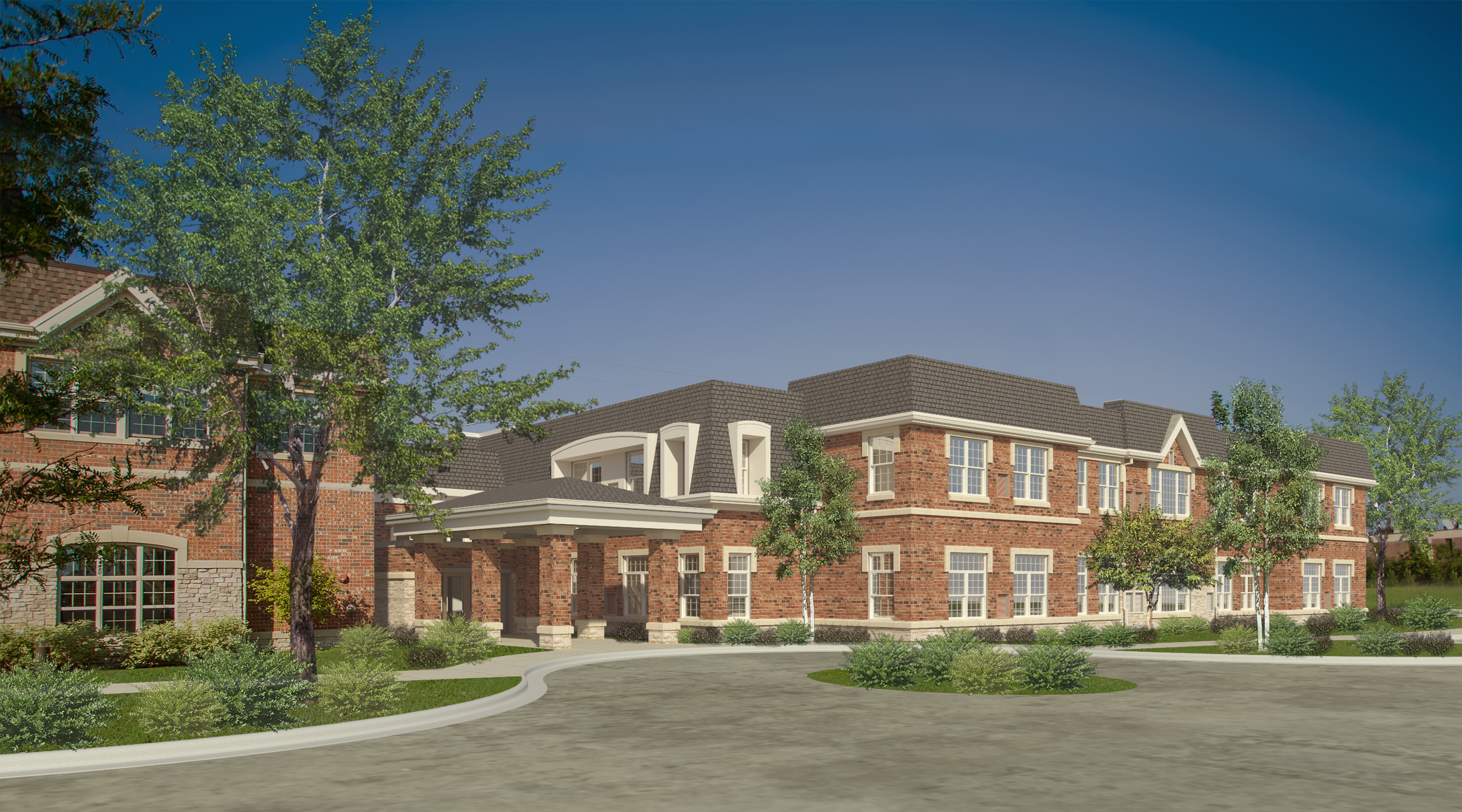 Skender breaks ground on senior lifestyle assisted living in Northbrook