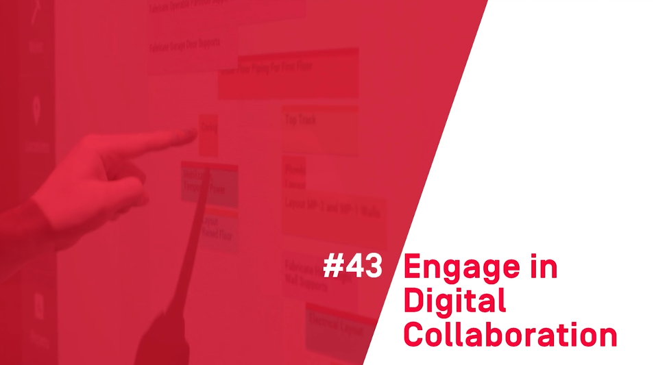 101 Ways To Build Smarter – #43 Engage in Digital Collaboration