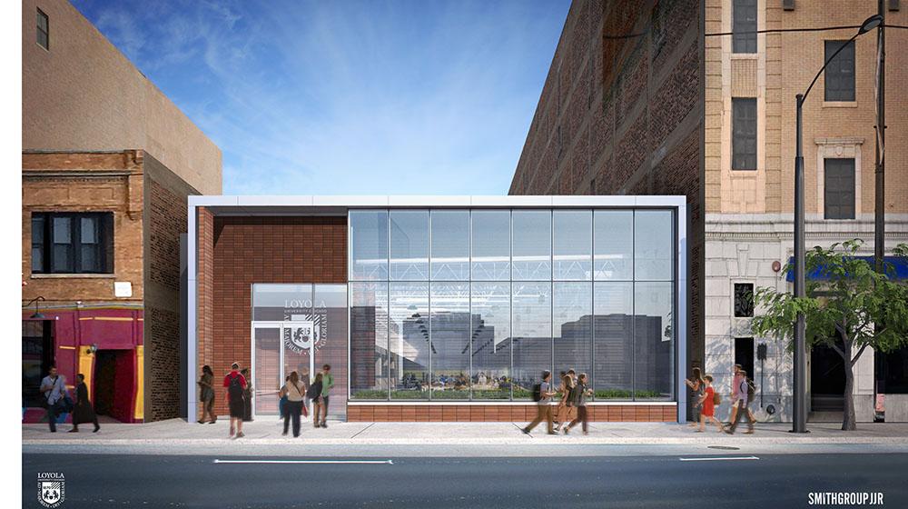Skender breaks ground on new laboratory at Loyola University Chicago