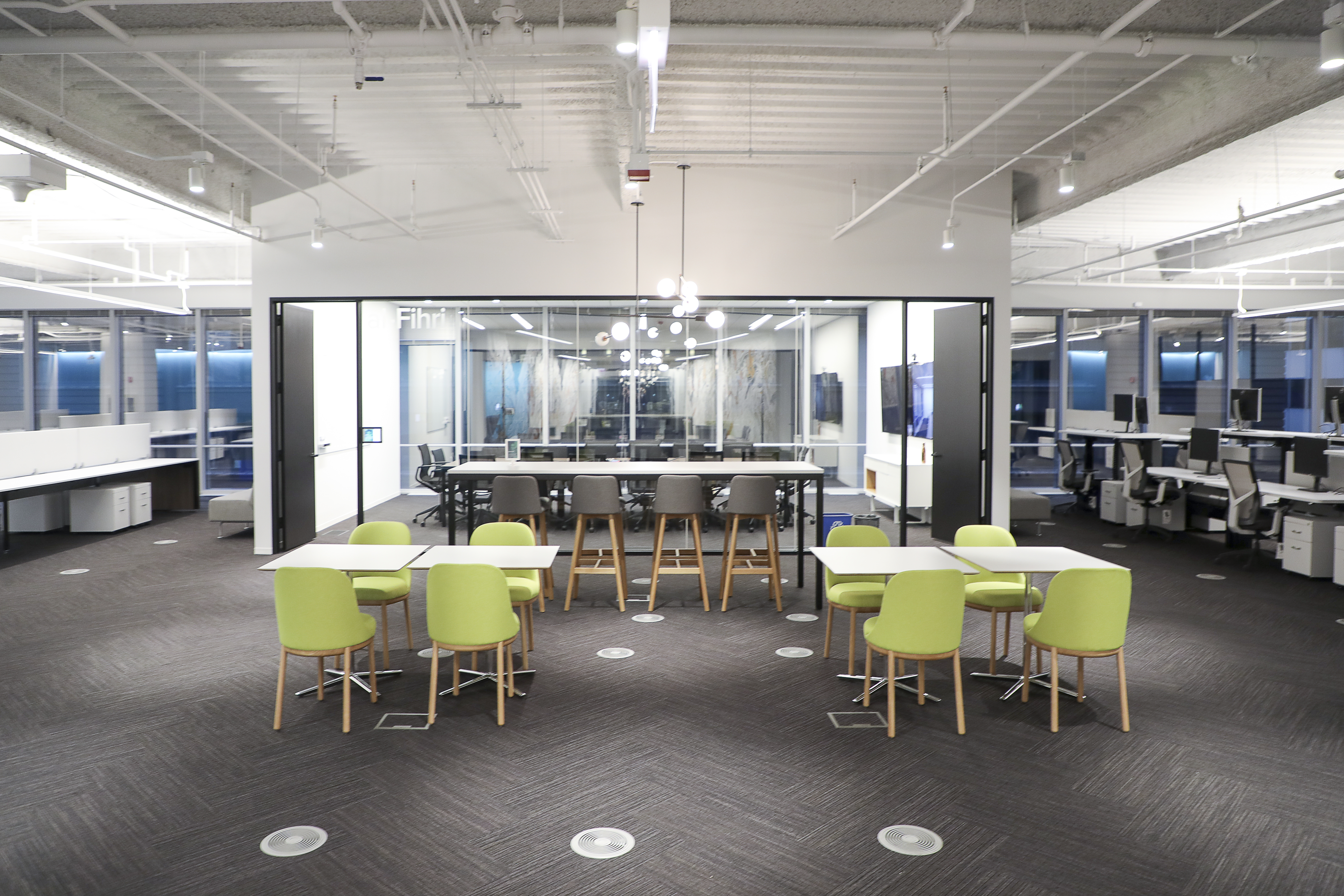 Sprout Social Maintains Rapid Growth With A Sleek And On-Trend Office Space