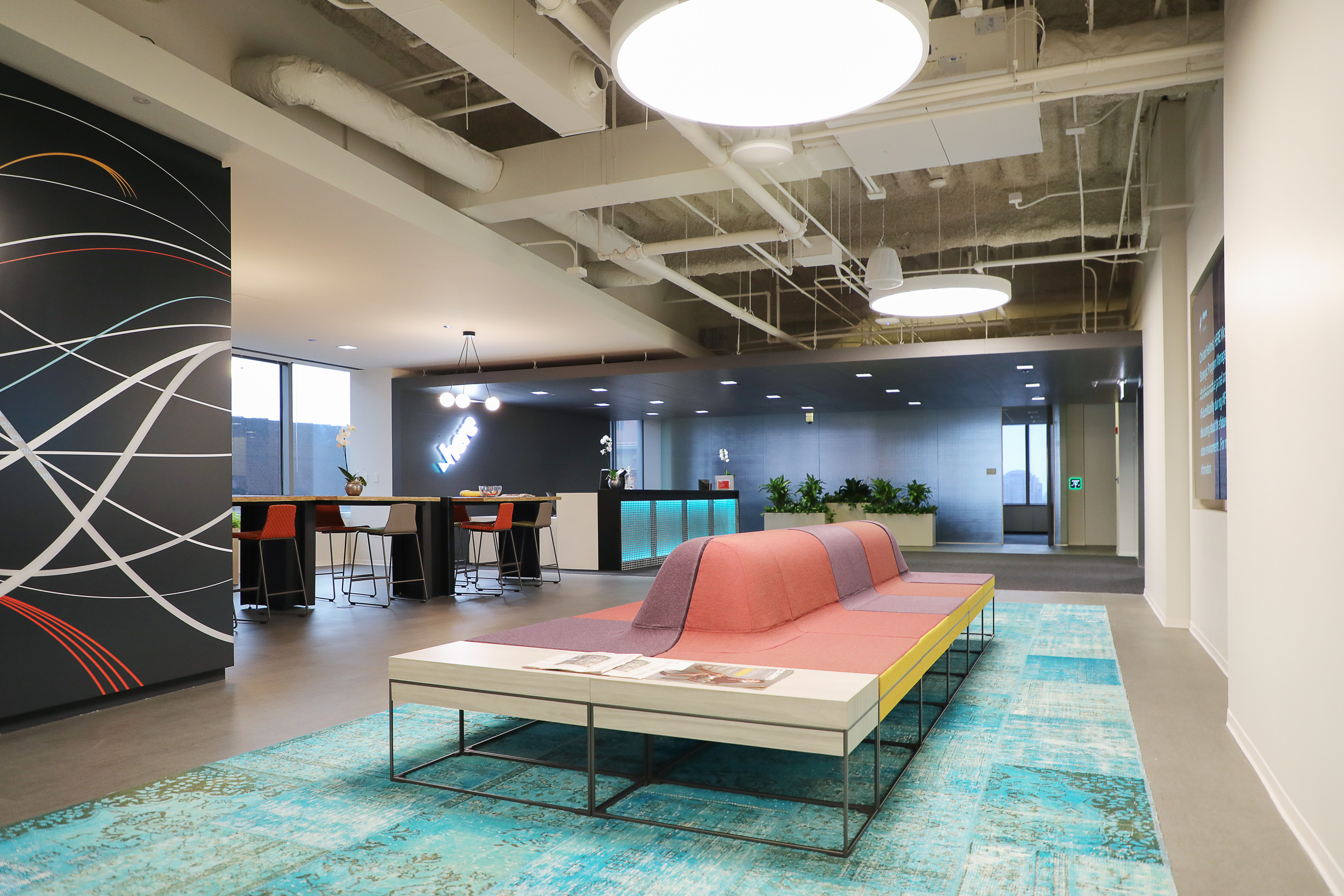 Skender Completes 225,000-SF Restack Project for HERE Technologies' New Americas HQ