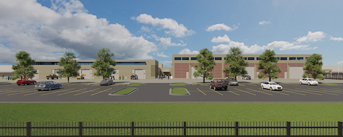 Skender breaks ground on 85k SF training center addition for Laborers' Union
