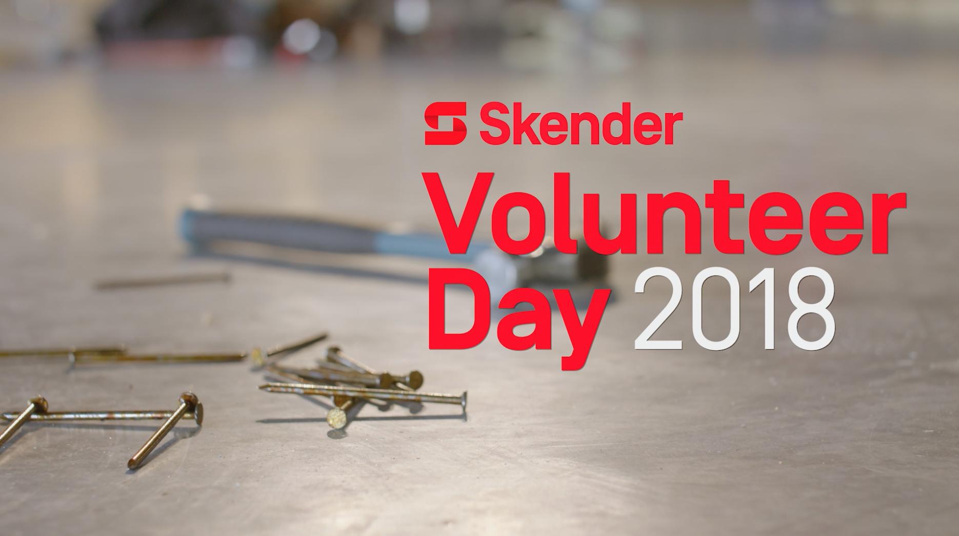Skender Volunteer Day 2018
