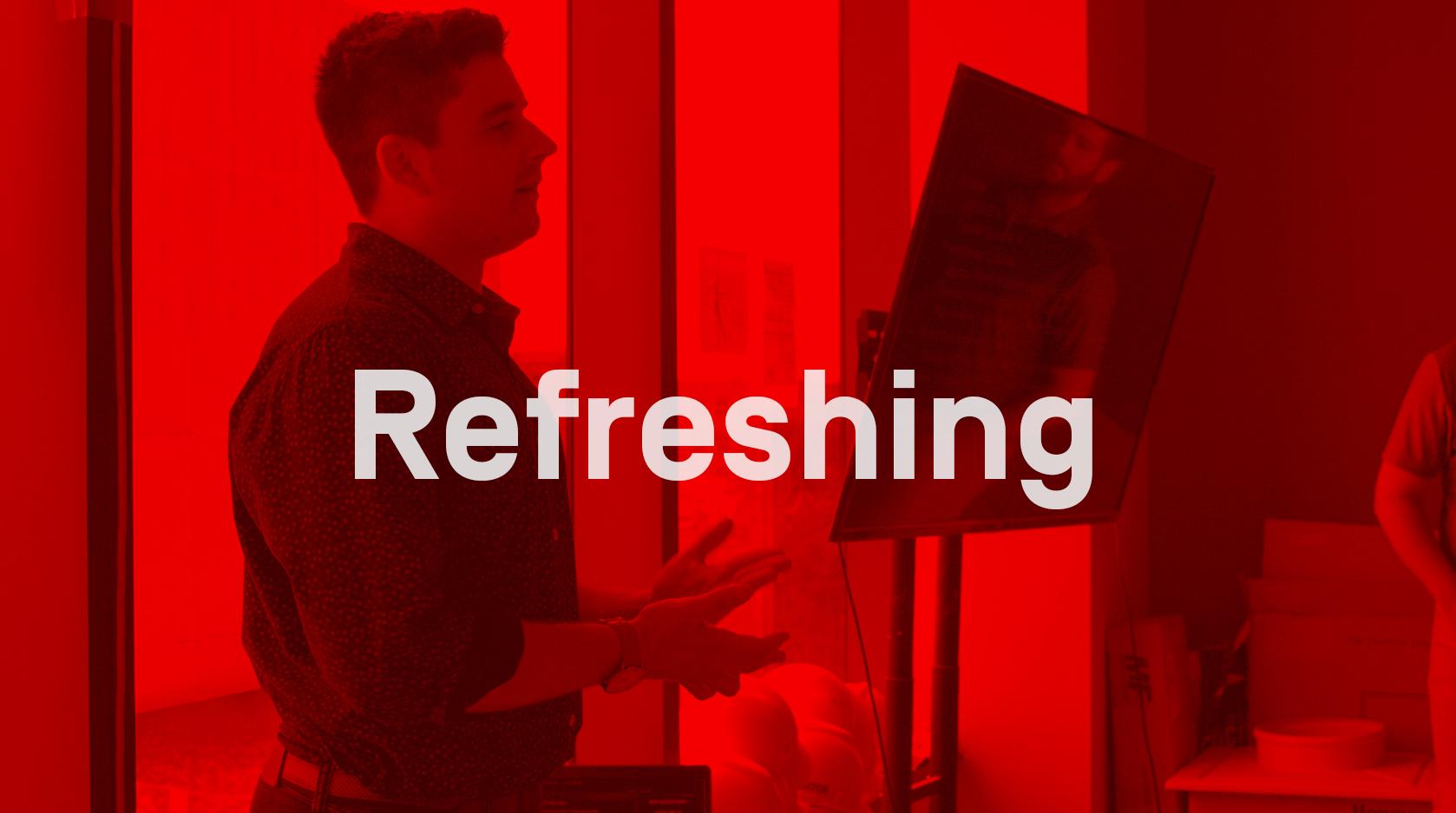 Refreshing – Skender Core Value