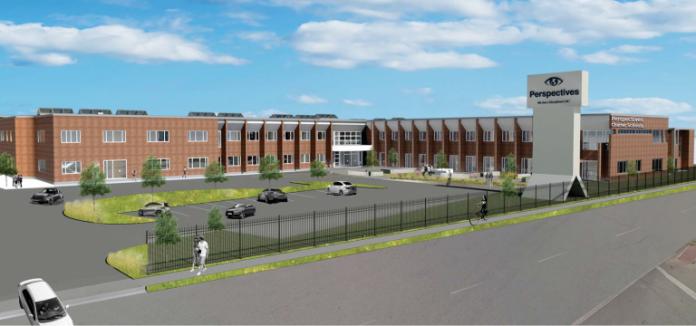 Skender starts 100,000-SF renovation for Perspectives Charter School