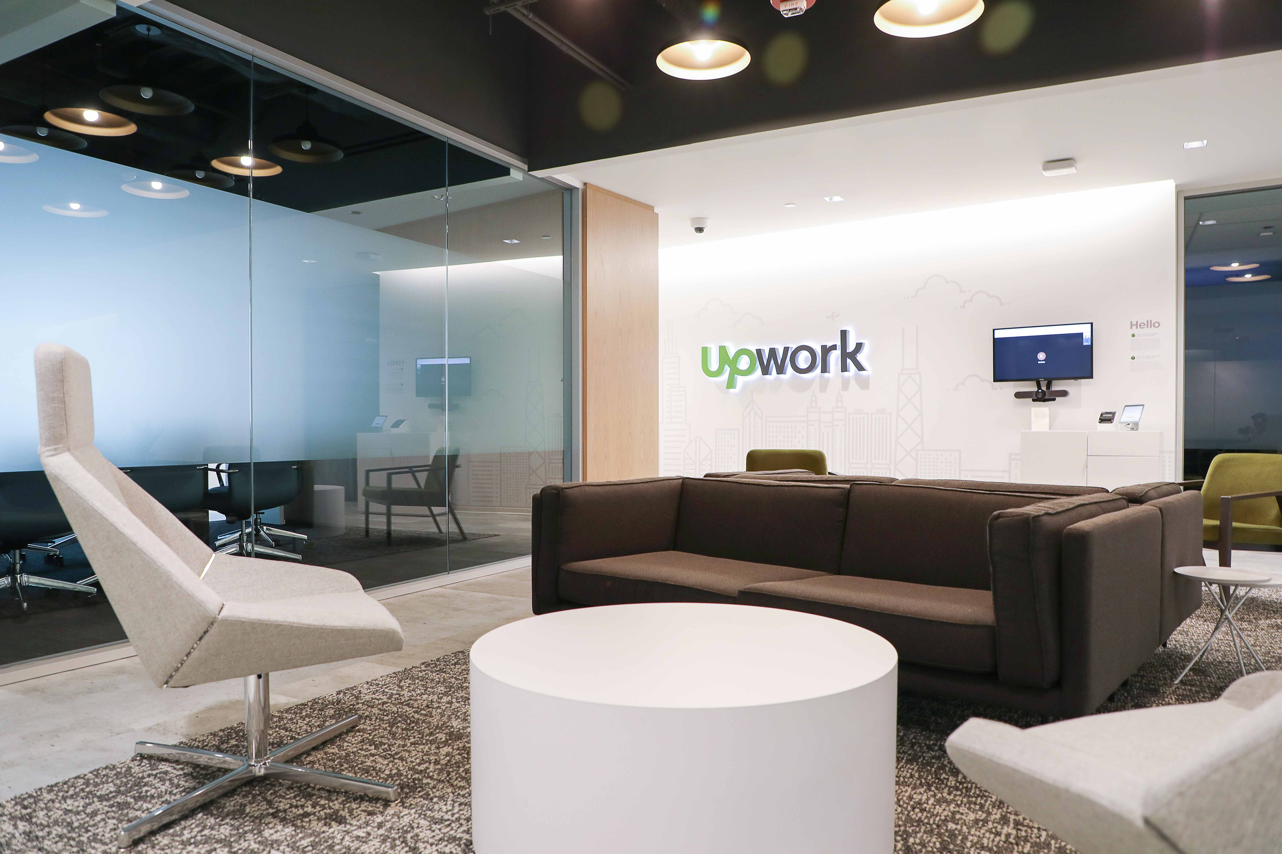 Skender Completes Interior Construction of Upwork HQ