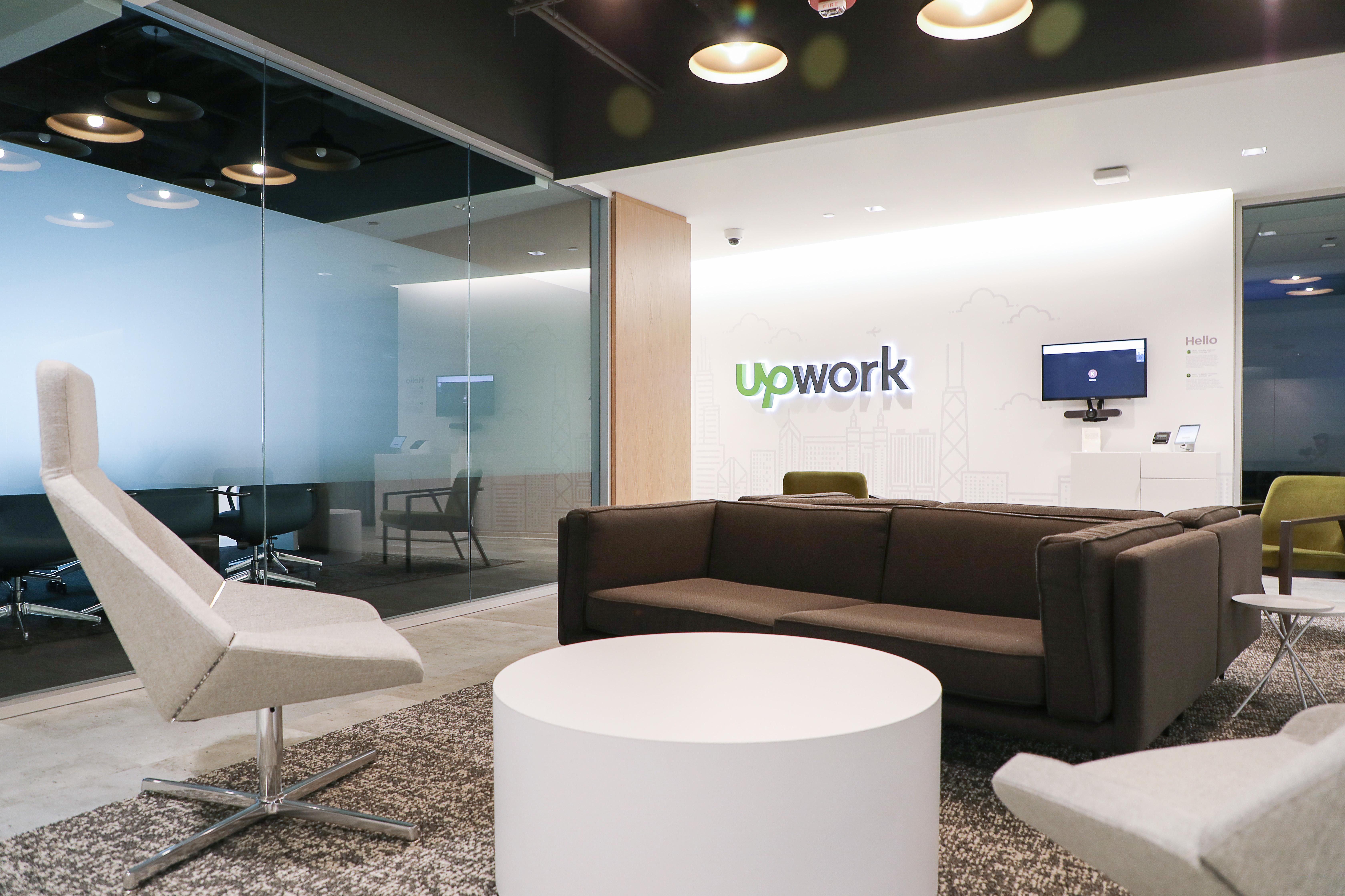 Skender completes interior construction on Upwork's West Loop HQ