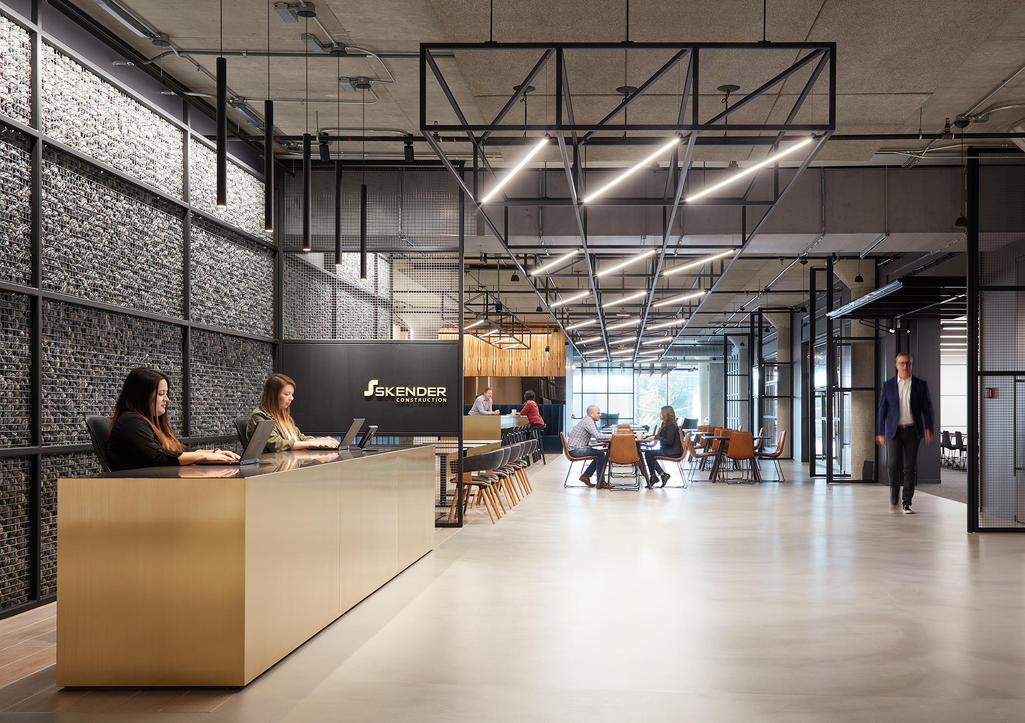 A Tour of Skender's Elegant Chicago Office