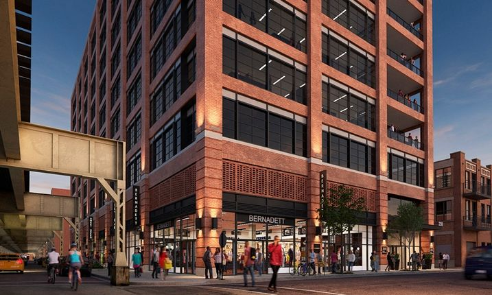 The Future of Fulton Market Lies in New Office Towers, Not Renovated Industrial Lofts