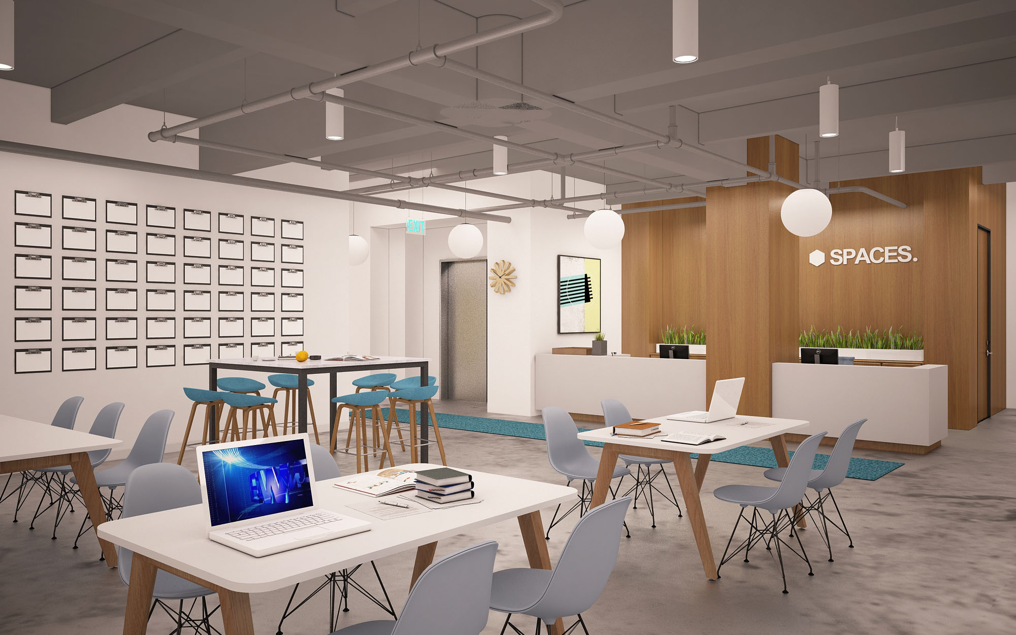 Skender Starts Interior Construction of Chicago HQ of Coworking Firm Spaces