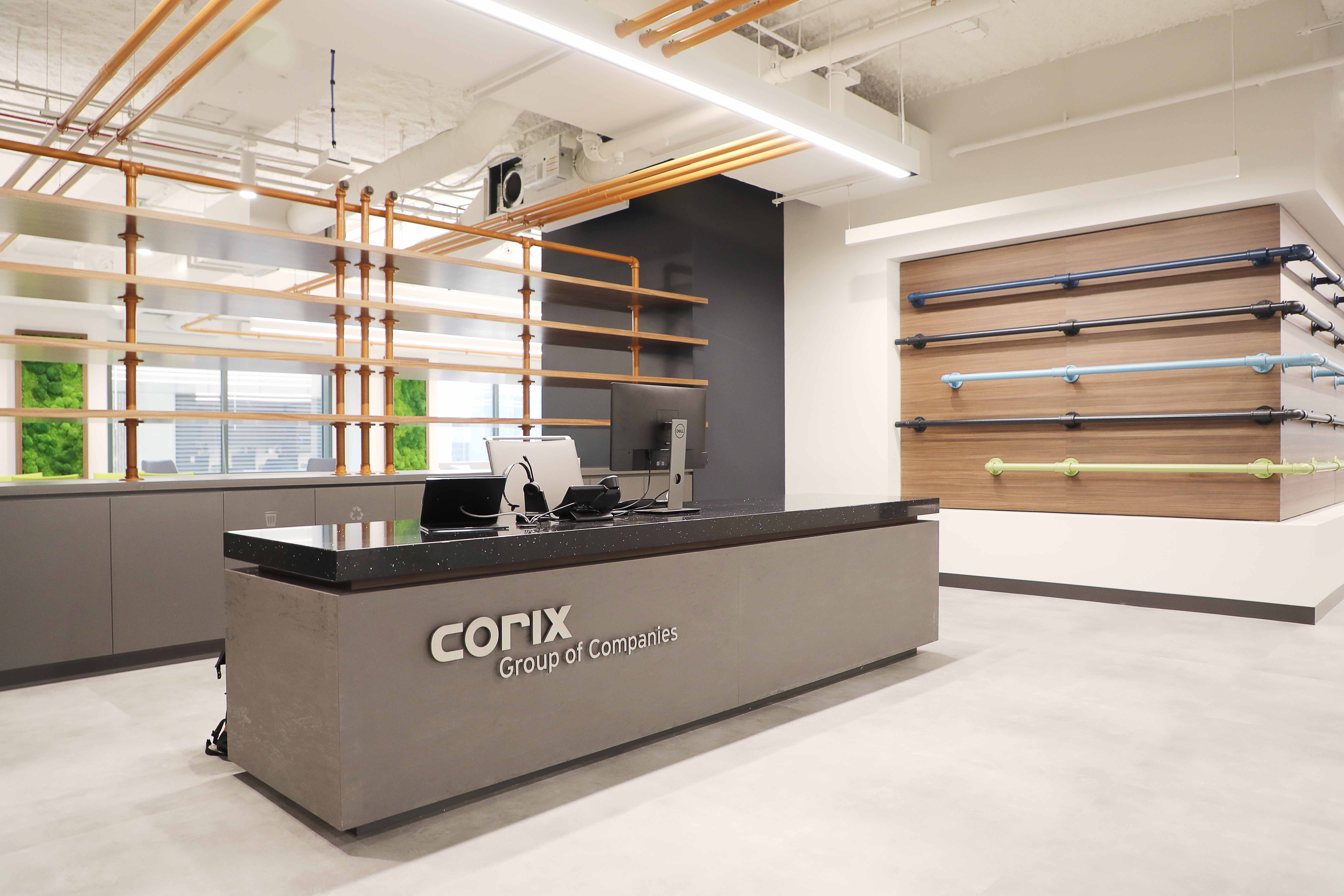 Skender Completes Office Interior Construction for Corix Group of Companies