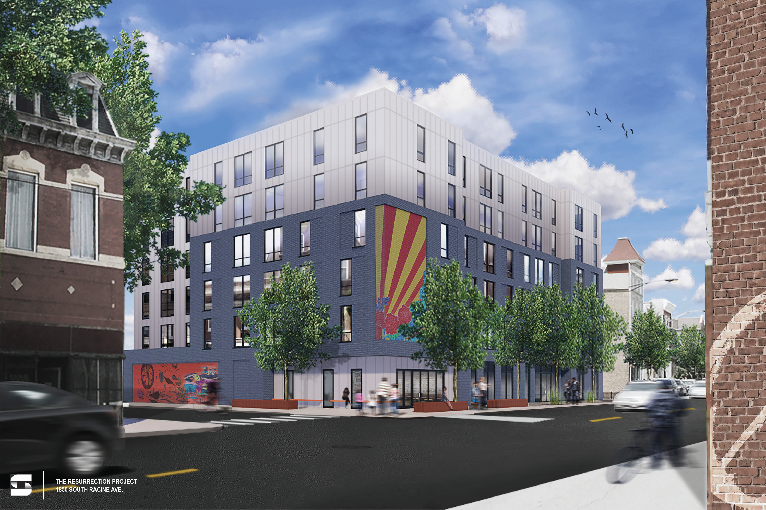 Modular affordable apartments pitched for vacant Pilsen corner