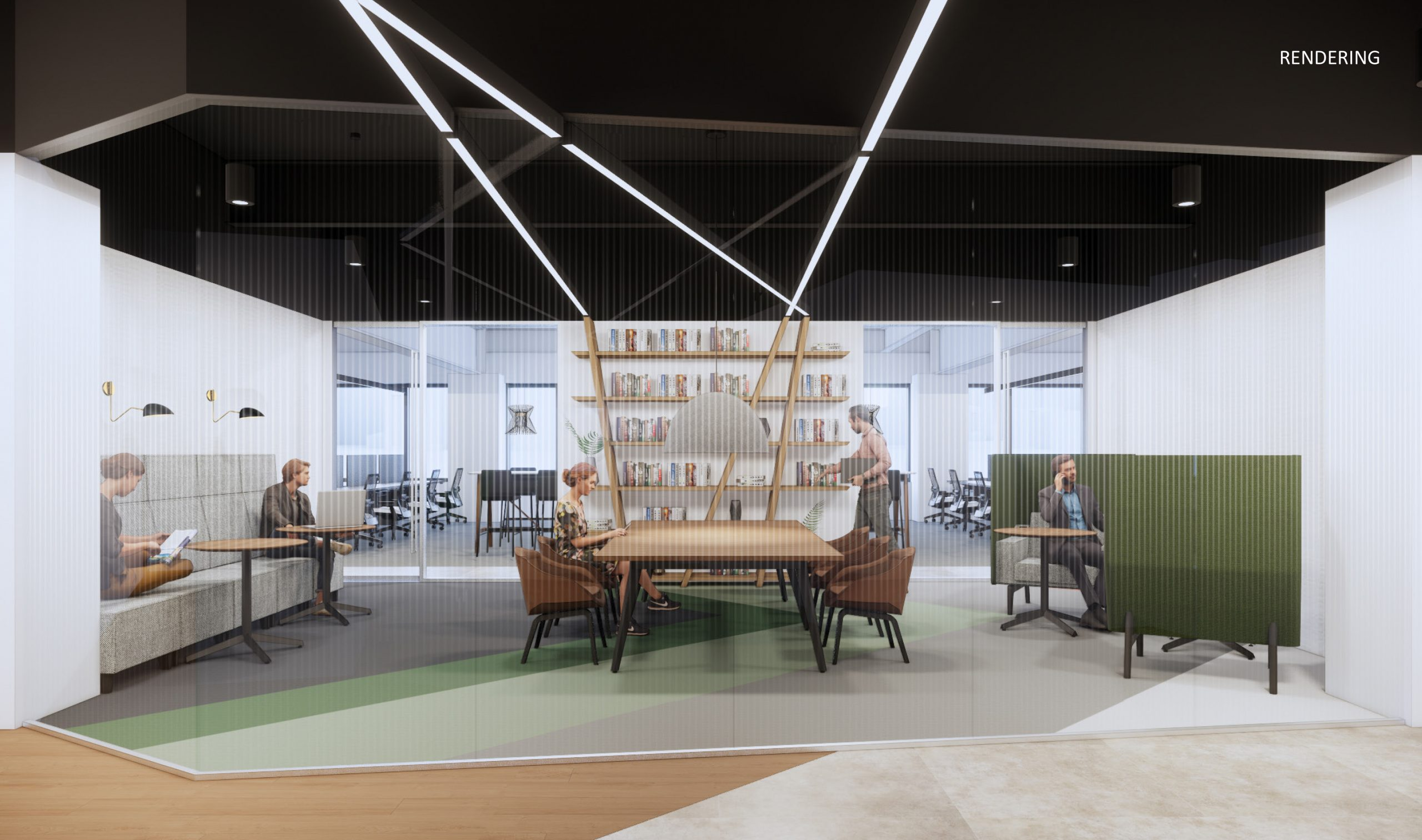 Skender Starts Interior Construction to Expand Upwork's Chicago Office