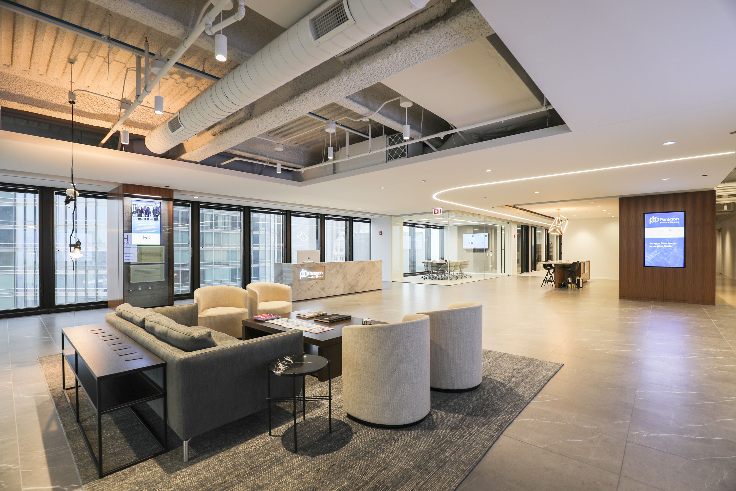 Skender Completes Interior Construction of Paragon Biosciences' New HQ