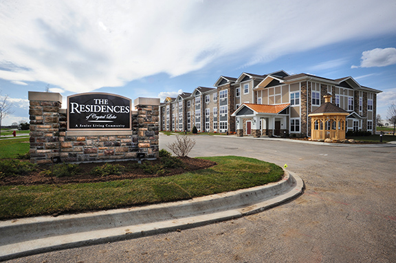 Skender Completes Construction on 60-unit Independent Senior Living Facility in Crystal Lake, IL