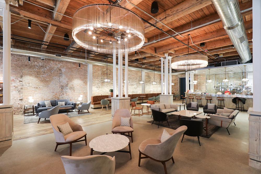 Skender Completes Interior Construction of Mondelēz International HQ in Fulton Market