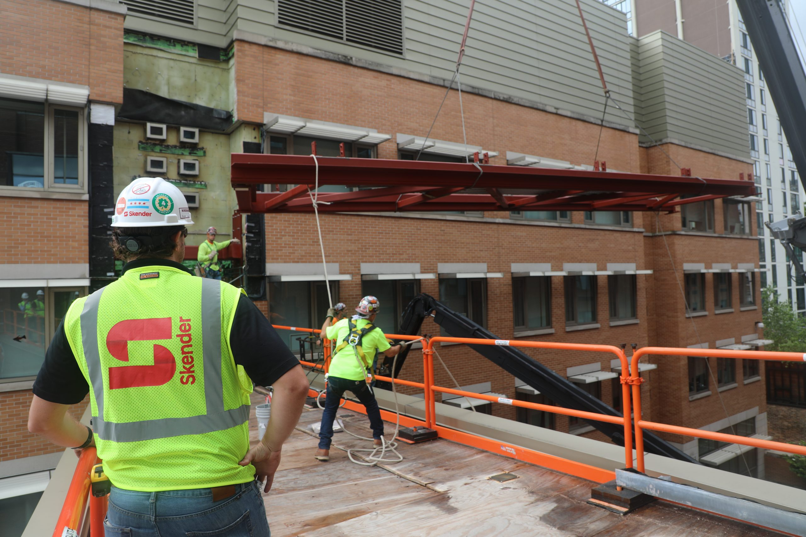 Skender Participates in National Safety Campaign to Prevent Falls in Construction