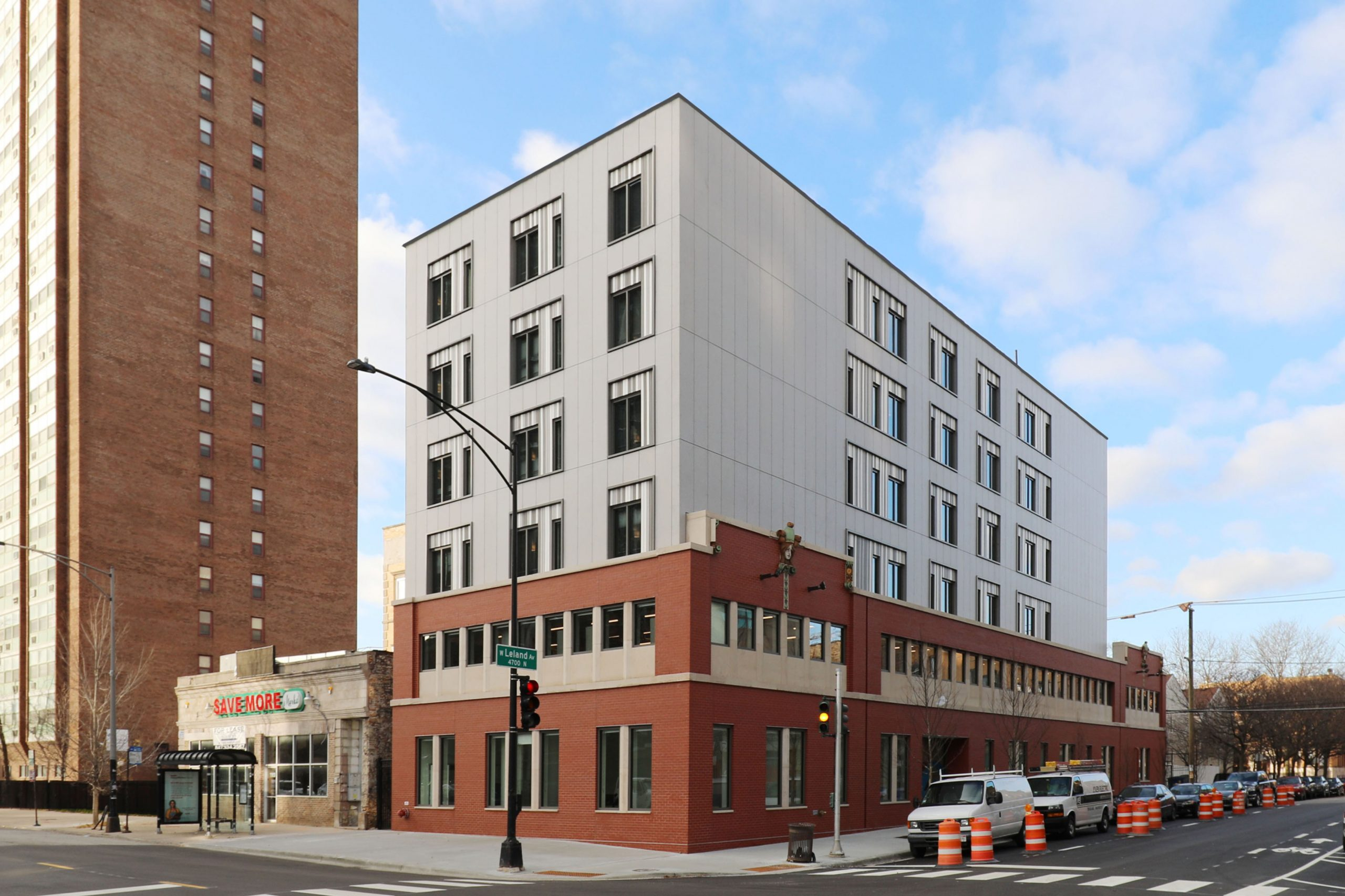 Skender Completes Construction on Sarah's Circle's Six-story Supportive Housing Facility for Women on Chicago's North Side