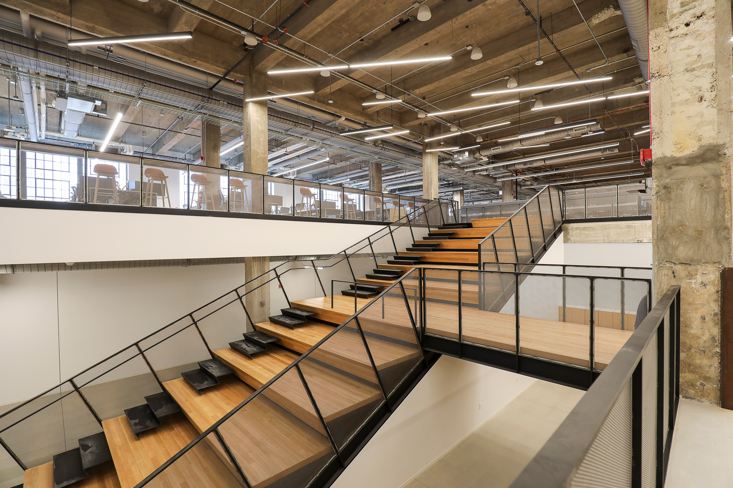 Skender Completes 200,000-SF Interior Construction on Walgreens Technology Center of Excellence in Old Post Office