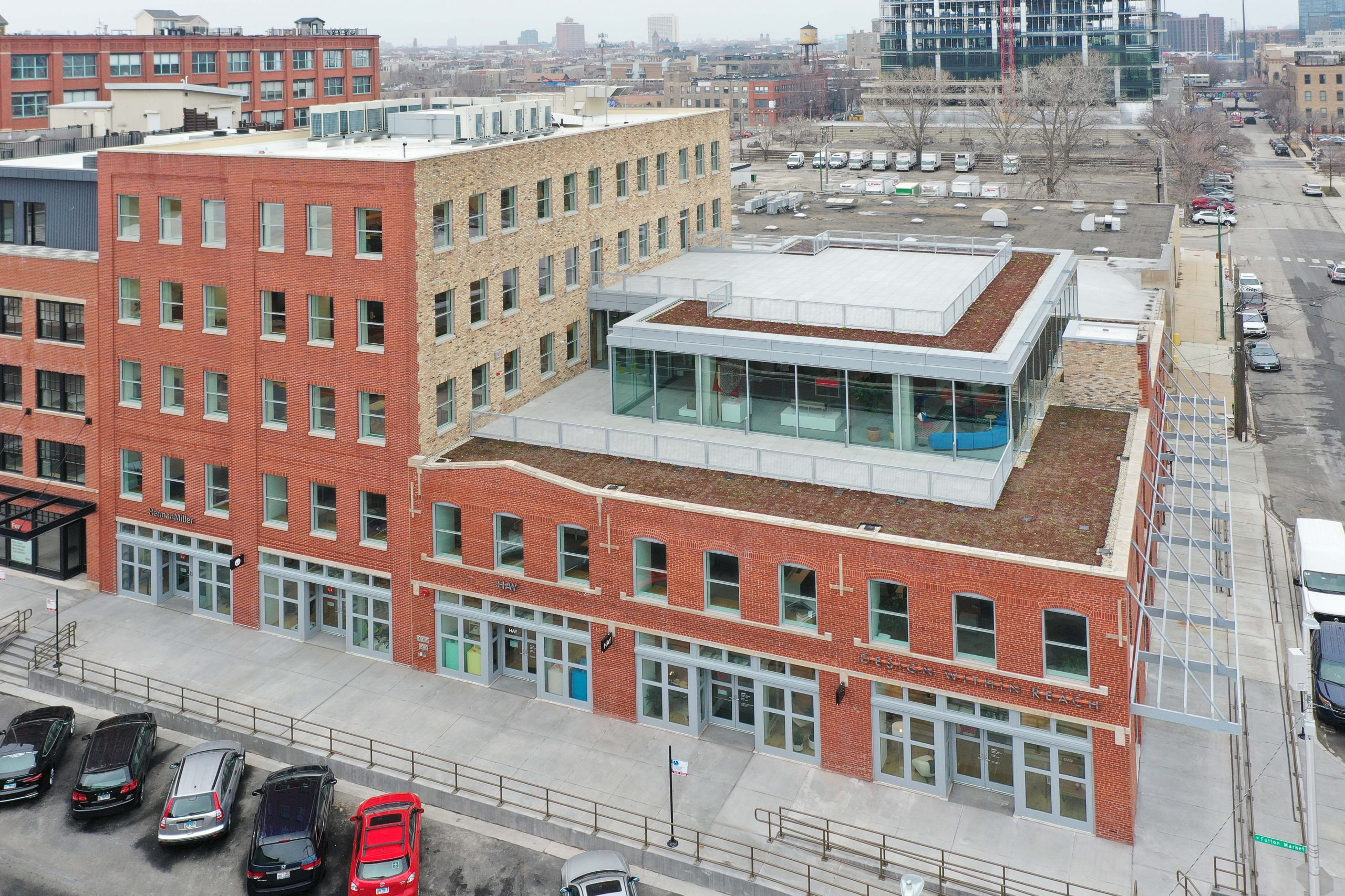 Skender Completes Construction at 1100 W. Fulton for Fulton St. Companies and Herman Miller