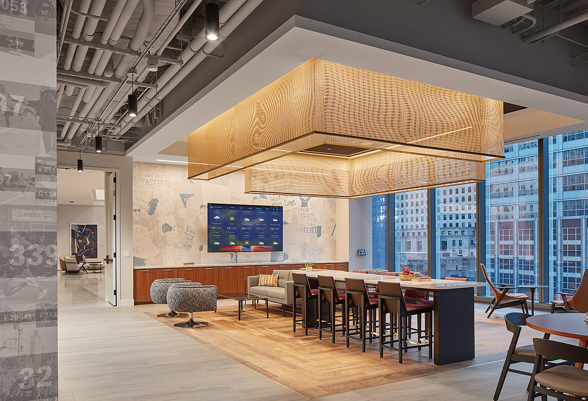 Skender Completes Interior Construction of new 536,000-SF Bank of America Flagship Office